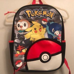 Kids Pokemon backpack like new